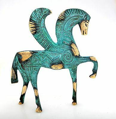 Statue Pegasus Flying Horse Bronze Ancient Greek Museum Replica Collectable