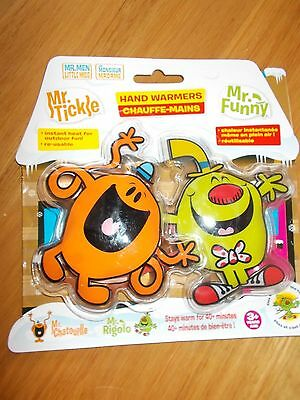 Mr Tickle and Mr Funny Hand Warmers