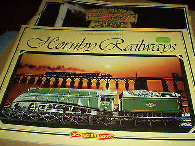 HORNBY MODEL RAILWAYS TOY CATALOGUE 1979 25th EDITION EXCELLENT FOR AGE