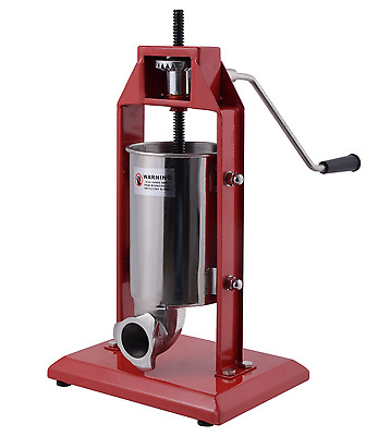 Vertical Sausage Stuffer 3L Stainless Steel Noise Free Home Commercial Press New