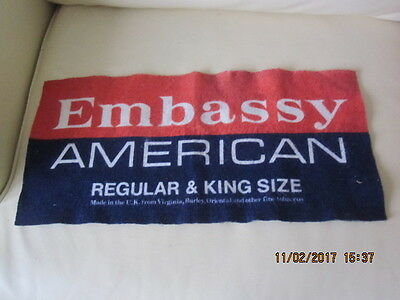 Vintage Embassy American Regular & King Size Bar Towel Drip Mat