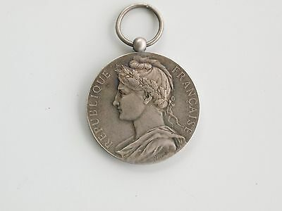 1932 France Ministry Of Commerce Silver Medal