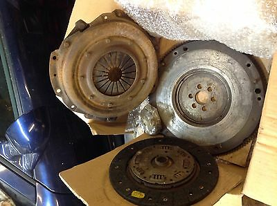 Lancia Beta volume x supercharger Flywheel, clutch and new release bearing. .