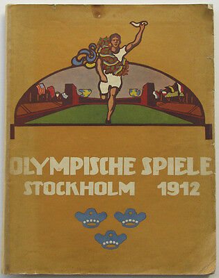 Olympic Games Olympische Spiele 1912 Bericht Report Buch