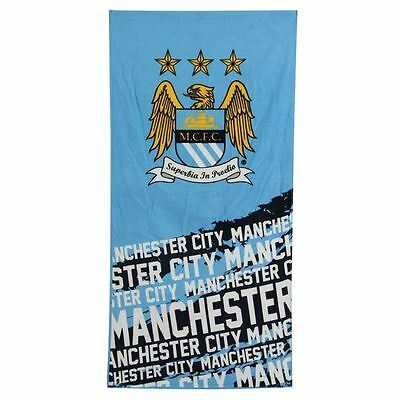 Manchester City FC Official Licensed Velour Beach Team Towel