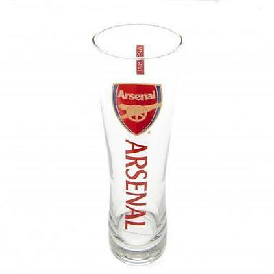 Arsenal FC Official Tall Beer Glass