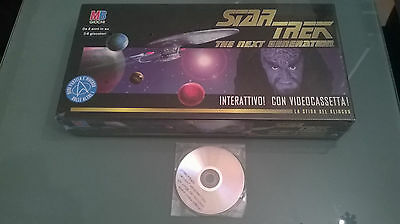Star Trek - The Next Generation - MB Giochi - Gioco da Tavolo NUOVO con DVD