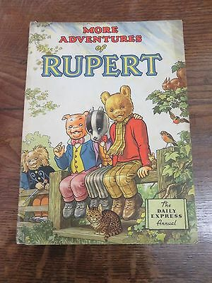 1953 Copy Of The Daily Express Annual - More Adventures Of Rupert