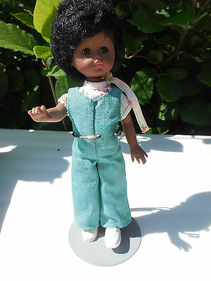 Vintage Vogue Doll Ginnette Black African American 1970's