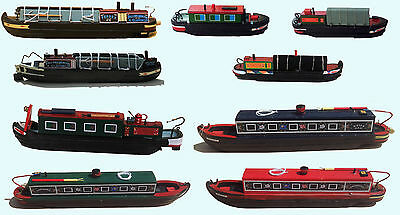 Canal barge ware model narrow boats from £4.99