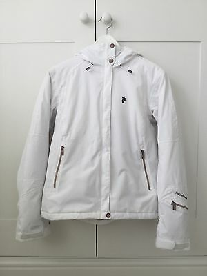 Peak Performance Women's Fort Ski Jacket White Medium