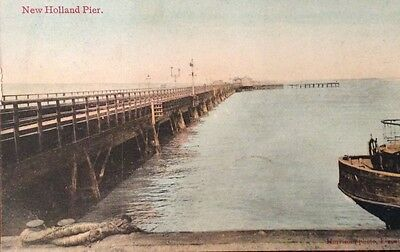 New Holland Pier, nr. Barton on Humber,Lincolnshire.