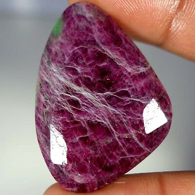 94.95Cts. 100% NATURAL ADORABLE RED GREEN RUBY ZOISITE FANCY CUT ROYAL GEMSTONES