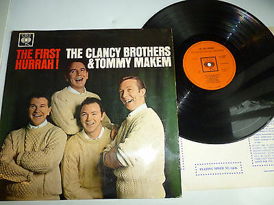 The Clancy Brothers & Tommy Makem The First Hurrah Vinyl Lp