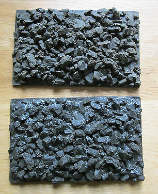 Wagon coal load in cast resin x2 for Accucraft W&LLR Open wagons