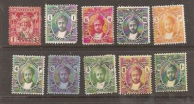 Zanzibar 1899-1929 Mint and used collection w9178