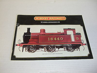 Hornby  24th edition catalogue 1978