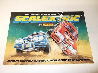 Scalextric 25Th Edition Catalogue
