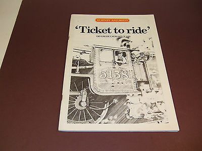 Hornby Railway 1981 27Th Edition Catalogue New