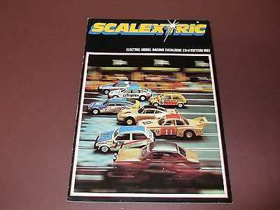 Scalextric 23Rd Edition 1982 Catalogue