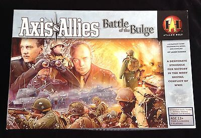 Axis and Allies The Battle of The Bulge Avalon Hill ~Just missing 1 Supply Token