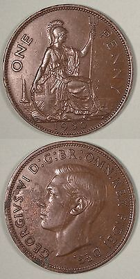 1950 George V1 penny, extremely rare, Lot 3