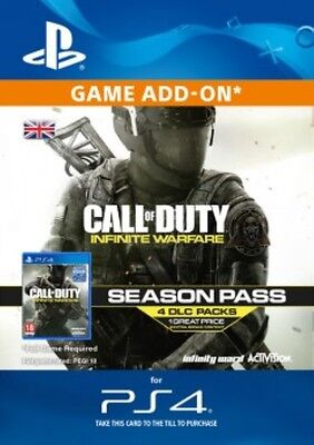 Call of Duty : Infinite Warfare - Season Pass DLC PS4 -  Same Day Dispatch
