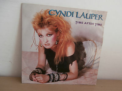 7 inch Vinyl         CYNDI LAUPER               ***TIME AFTER TIME***