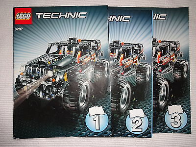 LEGO 8297 instruction books only.complete,vgc.