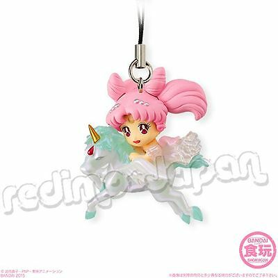 "SAILOR MOON Twinkle Dolly 3 ""Princess Chibi Serenity"" Helios Figur Strap BANDAI"