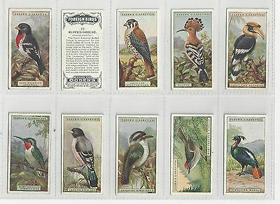 Complete set 50 Ogdens cigarette cards  FOREIGN BIRDS  series