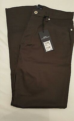 Next signature slim Stretch Five Pocket charcoal Trousers 32R