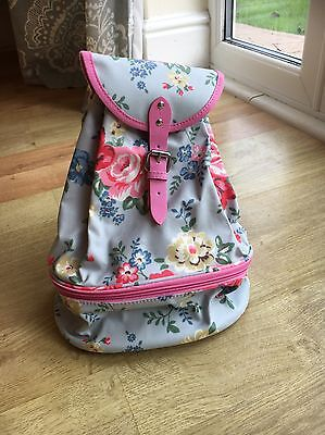 Cath Kids Children's Pink And Light Blue Floral Bag Brand New With Tag.
