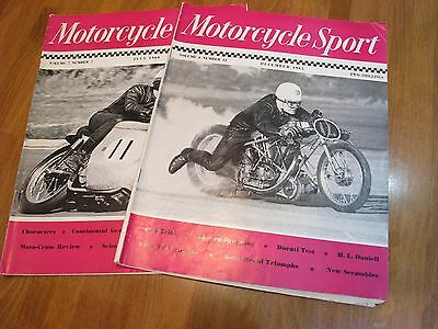 Vintage  Motorcycle sport magazines 2