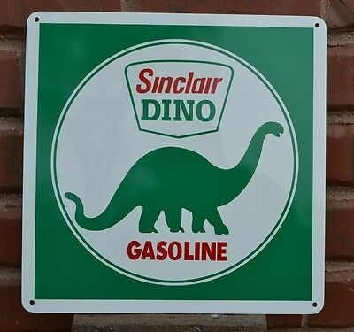 Sinclair gasoline pump sign Gas Station Dino gasoline