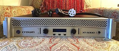 Crown Xti-6000 Power Amplifier - Under 16 Hours Use - Low$$$ Amazing Condition