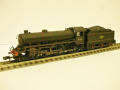 Graham Farish N Gauge BR Black lined B1 weathered locomotive 61321 FAULTY