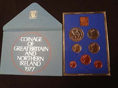 Coinage of Great Britain and Northern Ireland 1977 - Proof Set