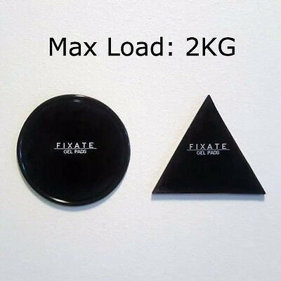 FIXATE Gel Pad 2KG Strong Wall Anti-slip Cell Pad Durable Washable Sticker - 2pc