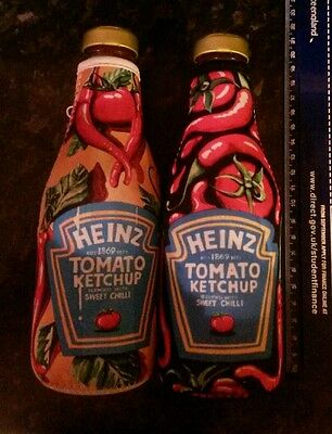 Heinz Orla Walsh Tomato Ketchup Zip Bottle Covers And Original Bottles