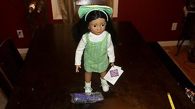 "18 "" LATINA indian arab ethnic MAGIC ATTIC CLUB ROSE or ROSA DOLL Girl Scout"