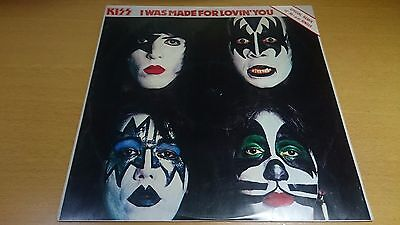 "KISS 12"" picture sleeve I was made for Lovin' you Special Remix CANL152"