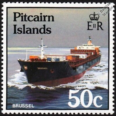 BRUSSEL (NEL / PAPUA ENERGY) Bulk Carrier / Cargo Container Ship Stamp