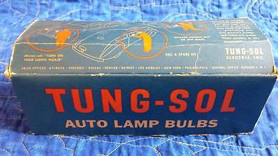 Nos New Old Stock Original Box Of 1094 Tung Sol 12V Lamps Antique Auto
