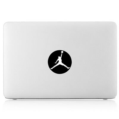Air Jordan Jumpman Logo Glows Vinyl Decal Sticker For Apple Macbook Air Pro