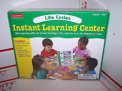Lakeshore NEW Instant Learning Center - LIFE CYCLES SCIENCE  TT692