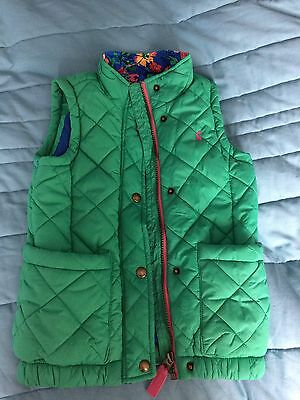 Joules Girls Gilet Age 6 Yrs