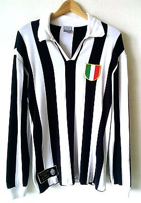 Maillot Football Jersey Nike Juventus Turin Italie Vintage Blanc Noir Taille Xl