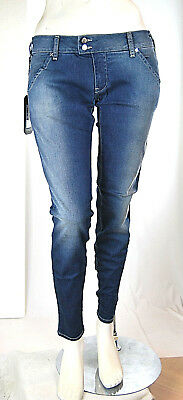 Jeans Donna Pantaloni MET Made in Italy Slim Fit Bernie SA277 Tg 27 31 32