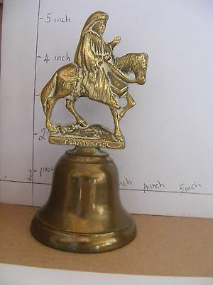 Vintage Brass Bell Chaucer Canterbury